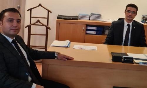 HALK BANKASI İSTANBUL 2. BÖLGE KOORDİNATÖRÜ ZİYARET EDİLDİ